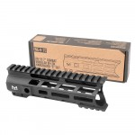 "AR-15 7"" Combat Modular M-Lok Handguard ""C"" Cut - Black"