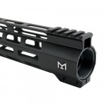 "AR-15 M-Lok 10"" Super Slim Free Float Handguard"