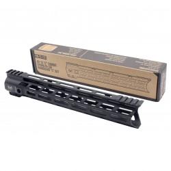 "AR-15 12"" Combat Hybrid M-Lok Handguard ""C"" Cut - Black"