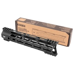 "AR-15 10"" Combat Hybrid Modular M-Lok Handguard ""C"" Cut - Black"