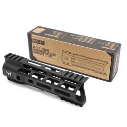 "AR-15 7""Combat Hybrid Modular M-Lok Handguard ""C"" Cut - Black"