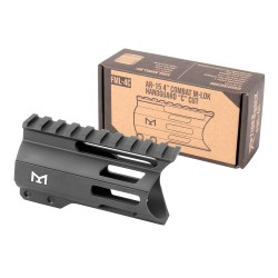 "AR-15 4"" Combat M-Lok Handguard ""C"" cut- Black"