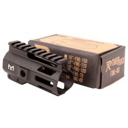 "AR-15 4"" Combat M-Lok Handguard - Black"