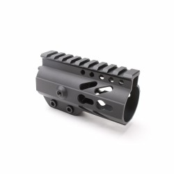 "AR-15 Keymod 4"" Super Slim Light Free Float Handguard"