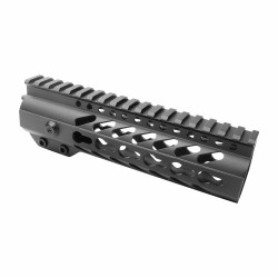"AR-15 M-LOK 4"" Super Slim Free Float Handguard"