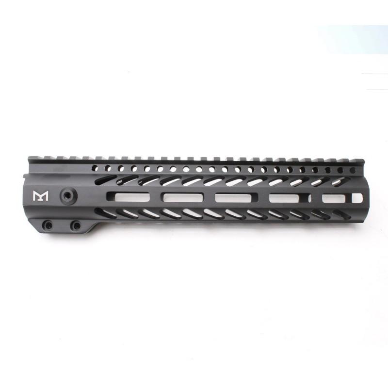 "AR-15 M-LOK 10"" Super Slim Free Float Handguard"