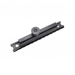 Tactical AR Carry Handle See Thru Scope Mount for 20mm Weaver Rail