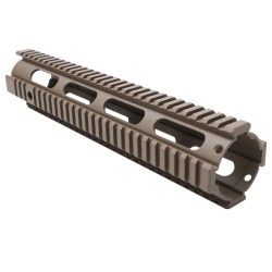 "AR-15 12"" Rifle Full Length Free Float Handguard Cerakote - FDE"