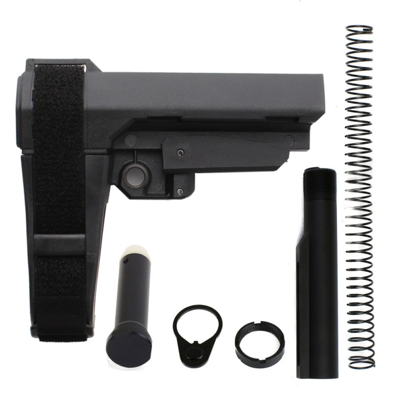 AR-15 SB Tactical SBA3 Pistol Buffer Tube Kit