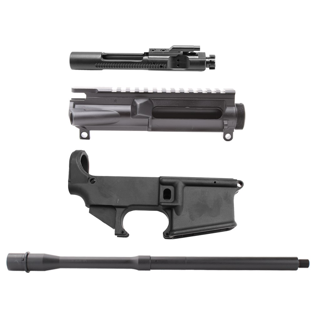 AR-15 Upper and 80% Lower Receivers W/  223/5 56 Bolt