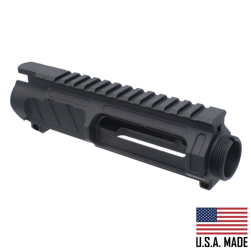 AR-15 Billet Stripped Mod 1 Upper Receiver (Made In USA) - Black