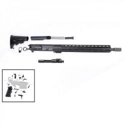 """AR .300 BLACKOUT 16"""" RIFLE BUILD KIT W/ 15"""" M-LOK USA MADE HANDGUARD (ASSEMBLED UPPER)"""