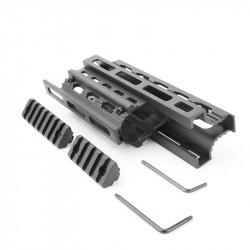 "AK M-LOK Handguard with 2"" & 3"" M-LOK Rails"