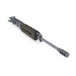 AR15 5.56 NATO 16'' CARBINE LENGTH 1:9 TWIST W/ 7'' OD GREEN M-LOK HANDGUAD-UPPER ASSEMBLY