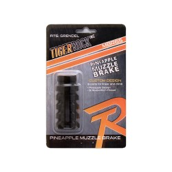 AR-15 6.5 Grendel Pineapple Muzzle Brake 9/16″ – 24 Pitch Packaged (NEW)