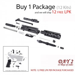DAY 2: AR-15 Pistol Kit (Package of 12)