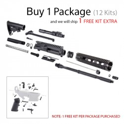 DAY 1: AR-15 Rifle Kit with LPK (Package of 12)