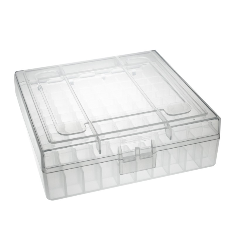 Clear Ammo Storage Case for 22 LR 25 ACP