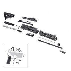 "AR-15 Rifle Kit with LPK and 10"" Keymod Super Slim Handguard"
