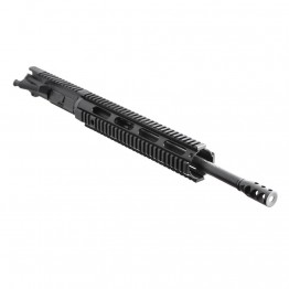 "AR .300 Blackout 16"" Pistol Length Barrel, 12"" Free Float Quad Rail, Complete Upper (BR3168-P, 223UP, ARFA, DC223, GTP, MBR38, TL308, GB01-B, FAR12)"