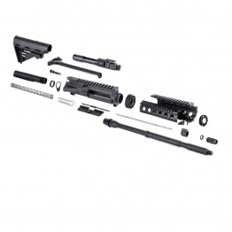 AR-15 Rifle Kit with Blackhawk Stock without LPK (BCG-N, 223UP, ARFA, DC223, CH223, MAR005, HC, GB01-B, GTC, MBR05, TL223, BR167-P, DBN, STBK, ST007M)