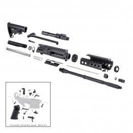 AR-15 Rifle Kit with LPK (BCG, 223UP, ARFA, DC223, CH223, MAR005, HC, GB01-B, GTC, MBR05, TL223, BR168-P, DBN, ST003M, ST007M, LPK-17)