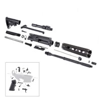 AR-15 Rifle Kit with LPK (BCG-N, 223UP, ARFA, DC223, CH223, FAR-10, GB01-B, GTC, MBR05, TL223, BR167-P, ST003M, ST007M, LPK-17)