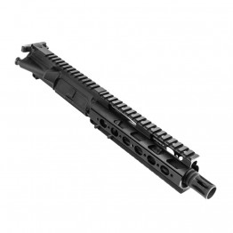 "AR .300 Blackout 7.5"" Pistol Length Barrel, Slim Free Float, Complete Upper(BR377-P, 223UP, ARFA, DC223, BCG-N, CH223, GTP, MBR06-308, TL308, GB01-B, CTFF7)"