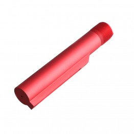 AR-15 Stock Buffer Tube -Mil-Spec -Red