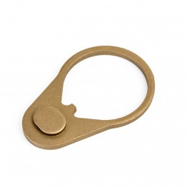 Stock Buffer End Plate -TAN