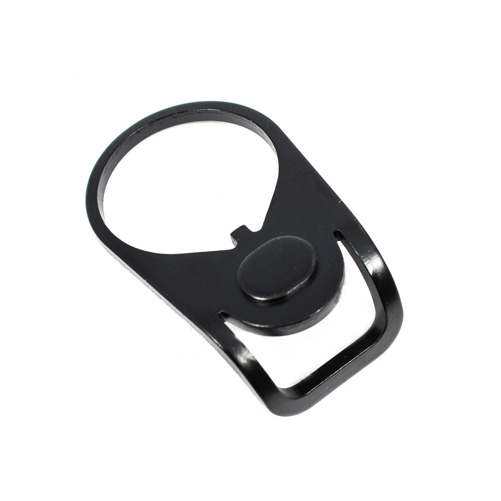 AR-15 Sling Adapter End Plate - Ambidextrous, 180 Degree Loop