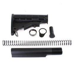 AR-10 6 Position Stock Kit  w/3.8 OZ Buffer-Commercial (T, N, P, S308, B38, ST003)