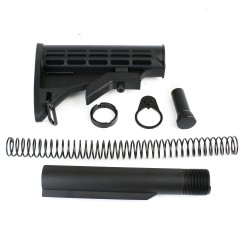 AR-10 6 Position Stock Kit  w/3.8 OZ Buffer-Mil Spec