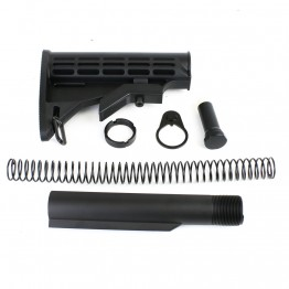 AR-10 6 Position Stock Kit  w/3.8 OZ Buffer-Mil Spec (T-M, N, P, S308, B38, ST003M)