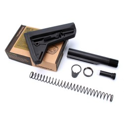 AR-10 Magpul MOE SL Stock Black with Mil-Spec Buffer Tube Kit