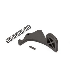 Steel Tactical Oversized Charging Handle Latch