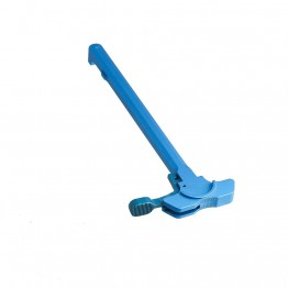 AR-15 Battle Hammer Charging Handle Assembly w/ Oversized Latch -Blue