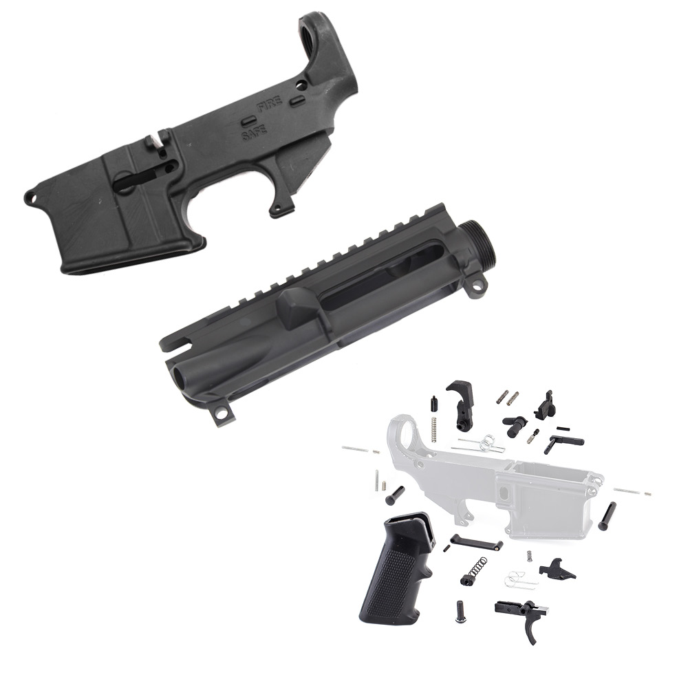 AR-15 80% Lower Kit - Made in U S A  with Upper Receiver