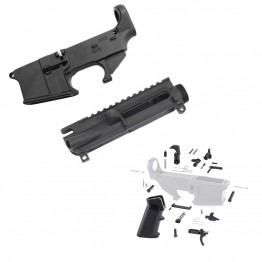 AR-15 80% Lower Combo Deal (223UP, 223LOWER, LPK-17)