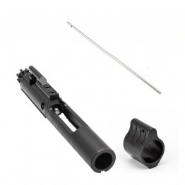 AR-15 Bolt Carrier Group Assembly (MPI Laser Marked) with .750 Low Profile Micro Gas Block and Pistol Length Gas Tube