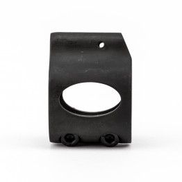 .750 Low Profile Steel Gas Block with CLAMP-ON