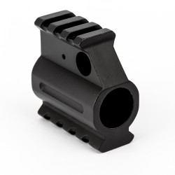 .750 Dual Rail Gas Block