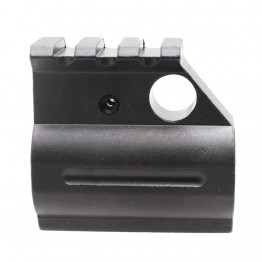 "Gas Block .750"" with Top Picatinny Rail Height - Black"