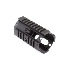 "AR-15 4"" Pistol Length Free Float Handguard w/Barrel Nut"