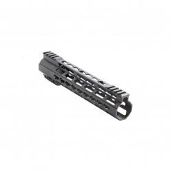 "AR-15 10"" Super Slim Light Keymod Free Float Handguard"
