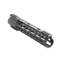 "12"" Super Slim Light AR-15 Keymod Free Float Handguard w/Steel Barrel Nut"