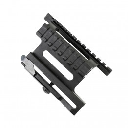 AK Quick Release Side Mount- See-Thru