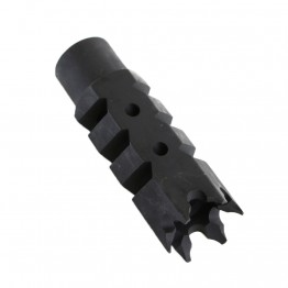 .308 Shark Muzzle Brake 5/8x24 Pitch Thread  w/ Crush Washer