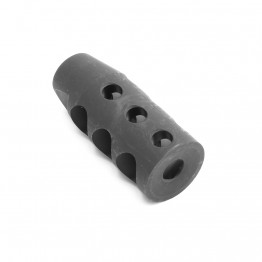 "308 Compact Muzzle Brake for 5/8""x24 Pitch  w/ Free Washer"