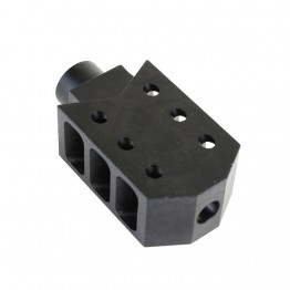 .308 Rifle Barrett Style Muzzle Brake with Jam Nut (NEW)